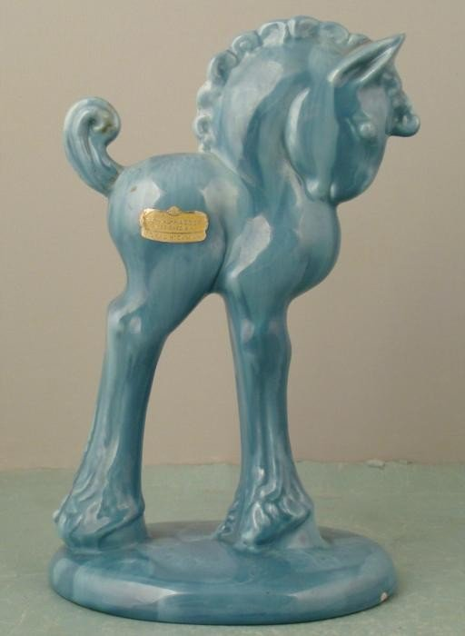 Royal Haeger Art Deco Ceramic Horse Figurine