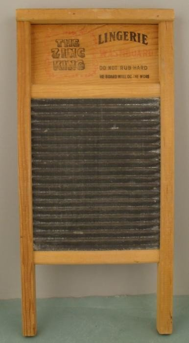 Zinc King Lingerie Washboard National No. 703