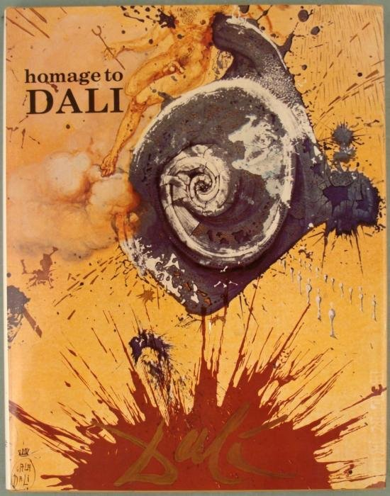 Homage to Dali Book Salvador 1980 Siecle Review