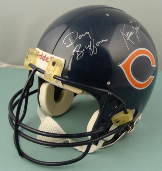 CHICAGO BEARS Signed Helmet Singletary Buffone Butler