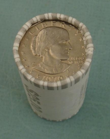 1979-P Susan B. Anthony Wrapped (25) Dollar Roll