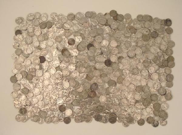 750 Partial & No Date Buffalo Nickels