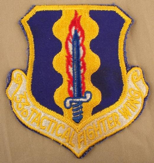 USAF Vietnam 33rd Tactical Fighter Squadron Patch