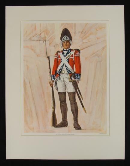 Tom McNeely Revolutionary War Art Print 21st Regiment