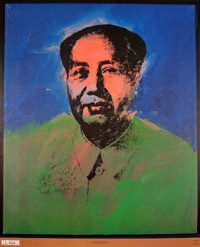Warhol Mao Poster