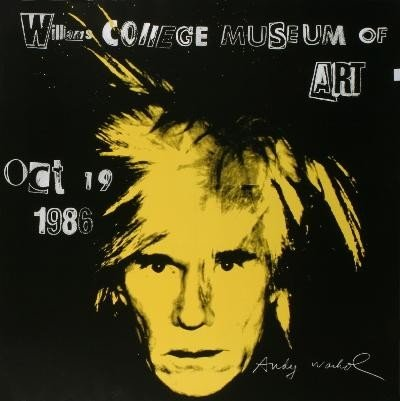 1986 Warhol Self Portrait Poster