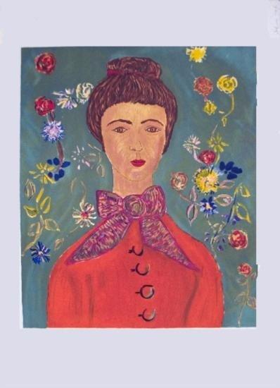 van Gogh Portrait Lithograph