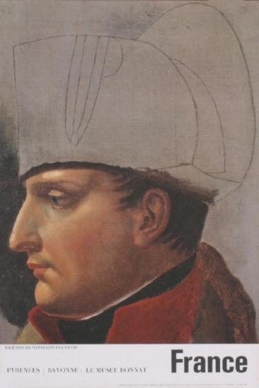 David Esquisse De Napoleon Poster