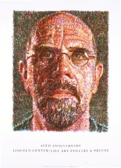 2007 Close Self Portrait Lithograph