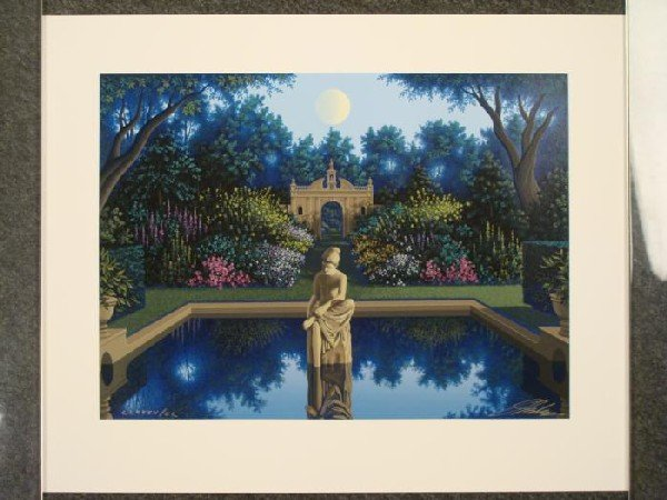 Jim Buckels Vale of Enna Classical Signed Ltd Art Print