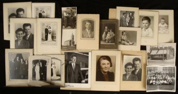 20 Old Photographs Portraits Store Vintage 1920s-40s