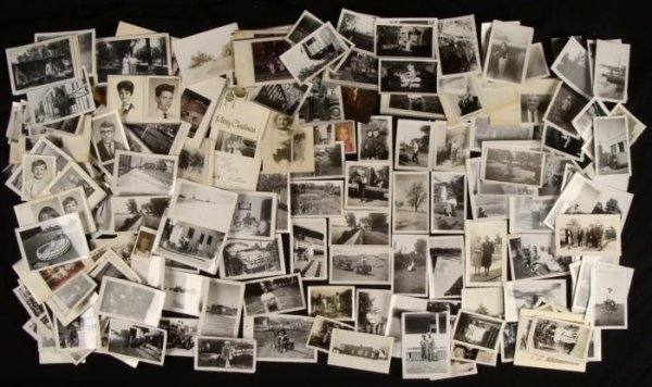 Big Collection Old Photographs People Travel 1930s-