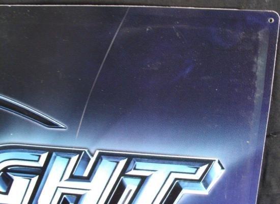 Coors Light NFL Logo Metal Tin Football Beer Bar Sign - 3
