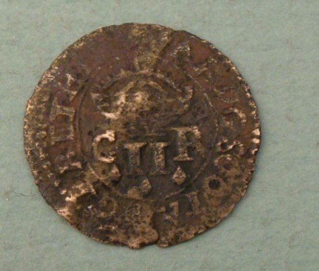 Scottish Two Pence of Charles I Turner Coin