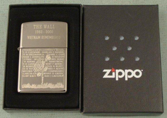 Zippo Vietnam Wall Remembered Lighter New Mint MIB
