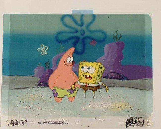 Cel Production Original But Why Spongebob Background