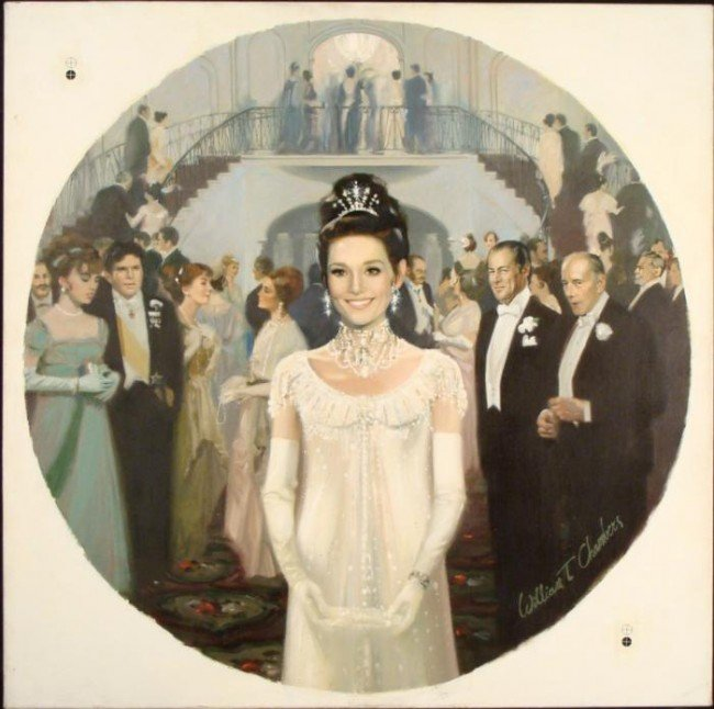 William Chambers Original Art Painting My Fair Lady