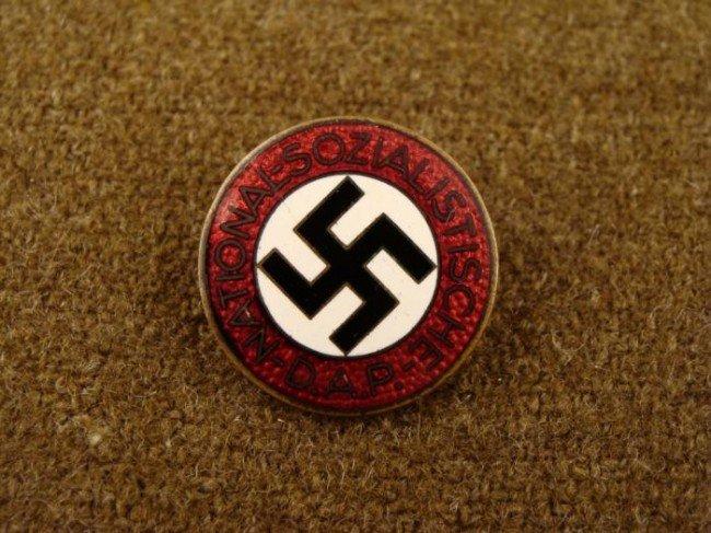 NSDAP Nazi Party Membership Badge RZM M1/120