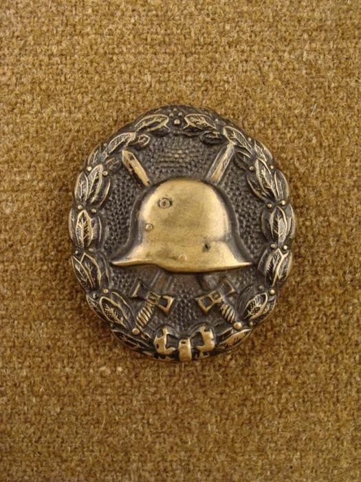 German WWI Gold Wound Badge Pin