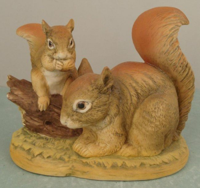 Lefton Red Squirrel KW00066 Porcelain Animal Figurine