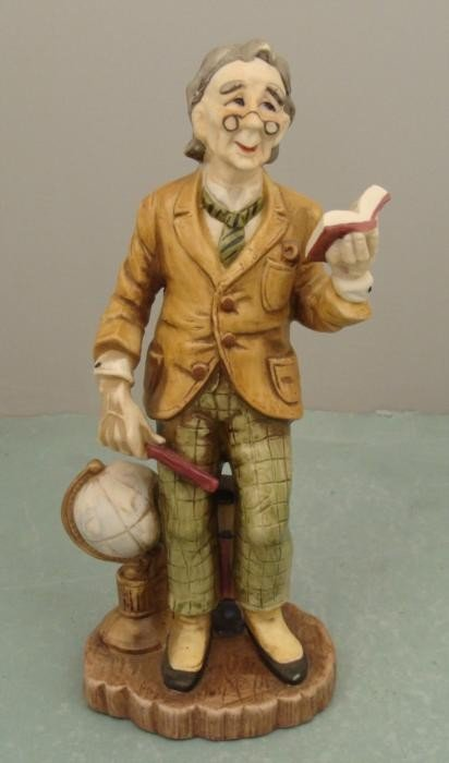 Lefton Professor GG5682 Hand Painted Porcelain Figurine