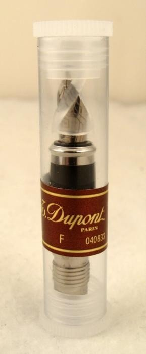 S.T. Dupont 14K White Gold Fountain Pen Nib # 040833