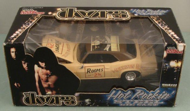 The Doors Ltd Ed Racing Champions Hot Rockin Steel Car