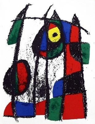 J.Miro LE Original Lithograph VII Cat. Raisonne #2