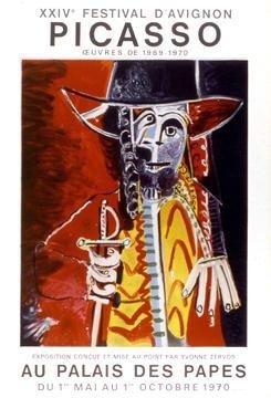 P. Picasso XXIV FESTIVAL DAVIGNON LE Litho (Mourlot)