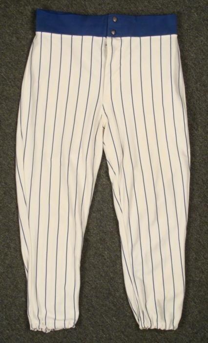 1978 Wilson Game Worn Chicago Cubs Home Pants Baseball
