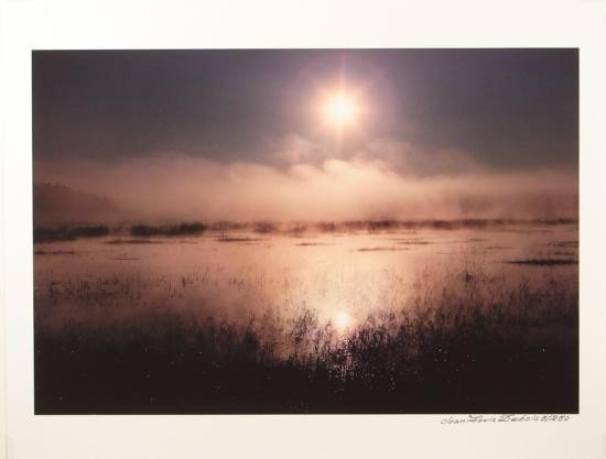 Marsh Sunrise Nature Photo Giclee Art PRINT Dubois