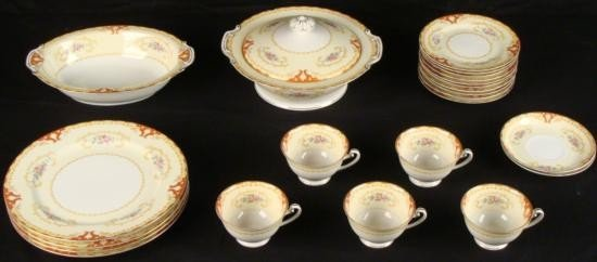 Ransom China RNS3 23 Pc Dinnerware Set Japan