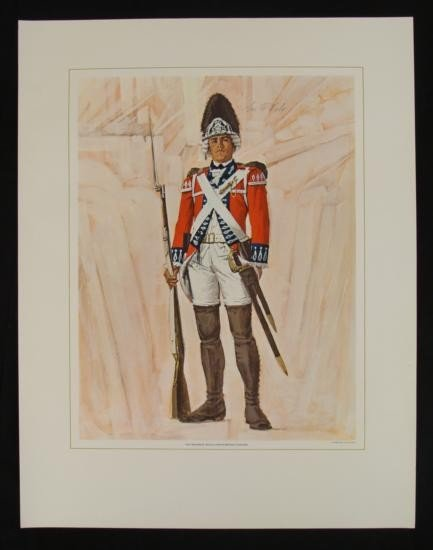 Tom McNeely Revolutionary War Art Print 21st Regiment