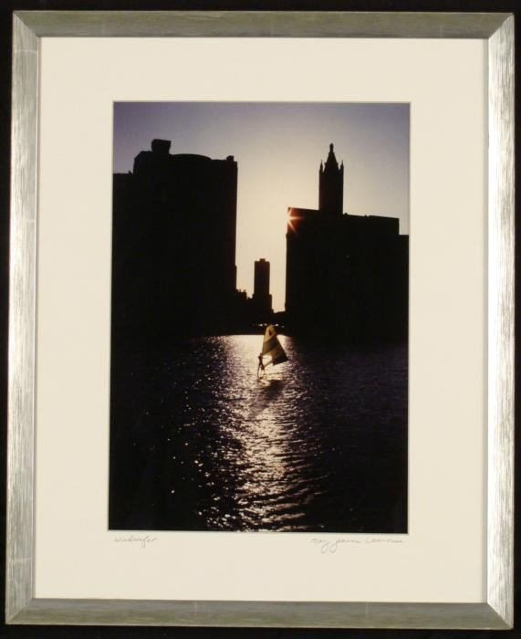 Mary Jeanne Lawrence Chicago Windsurfer Photograph Frmd