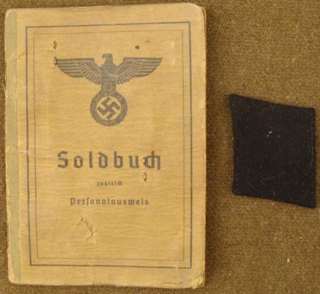100% ORIGINAL SS SOLDBUCH FOR SS PIONEER-MANY ENTRIES