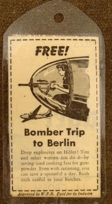 WWII ORIGINAL U.S. ANTI-NAZI GERMAN PROPAGANDA PIECE