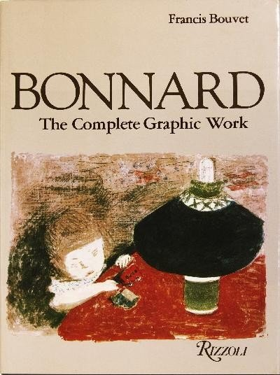 1981 Bonnard The Complete Graphic Work Book