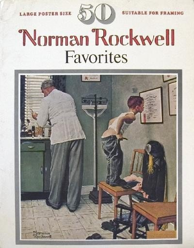 50 Norman Rockwell Favorites Book