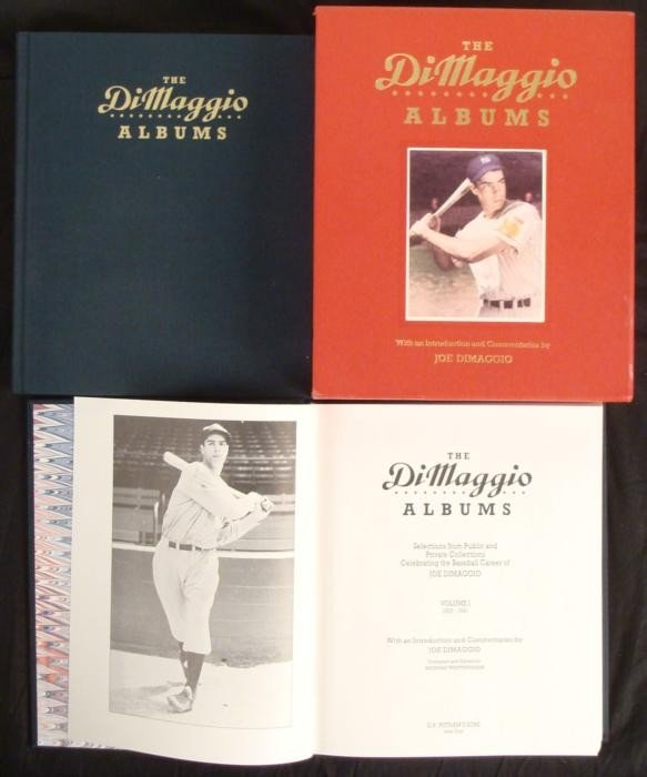 Complete The Joe DiMaggio Albums Baseball Yankees