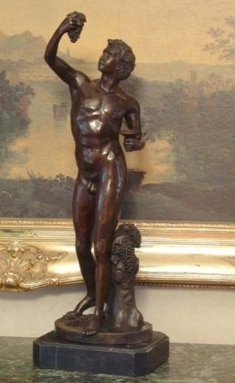 Magnificent Bronze Sculpture Bacchus