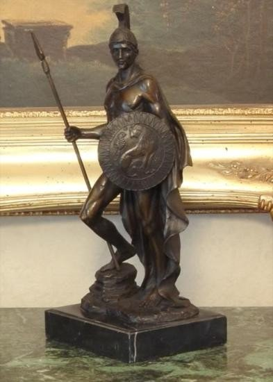 Glorious Bronze Sculpture Gladiator