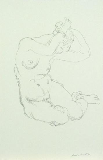Matisse Nude Poster
