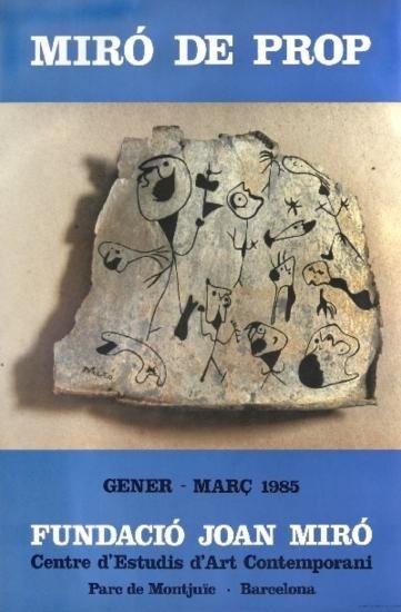 1985 Miro De Prop Poster
