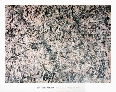 Pollock Number 1 (1950) Poster