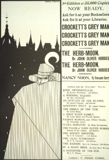 Horron Crocketts Grey Man Lithograph