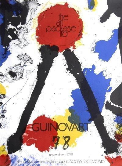1978 Guinovart The Art Package Ltd. Lithograph