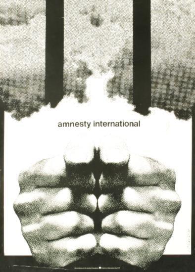 1977 Cieslewicz Amnesty International Poster