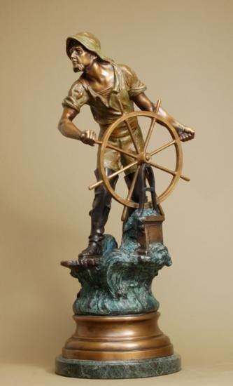 The Mariner by Raphael X Bronze Sculpture
