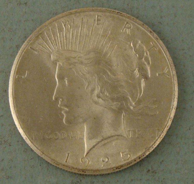 1925 High Grade Silver Peace Dollar