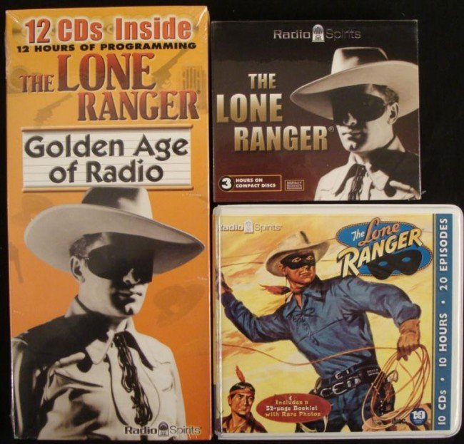 Lone Ranger Radio Spirits Compact Disc Collection 23 CD